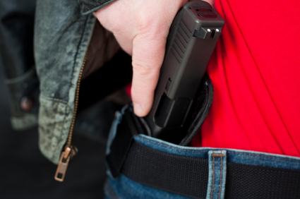 Carrying a concealed weapon